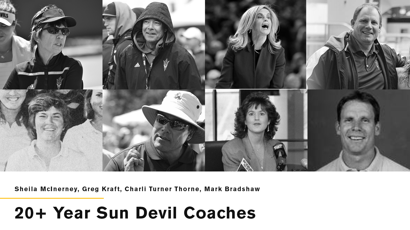 20+ Year Coaches at @TheSunDevils a Special Group