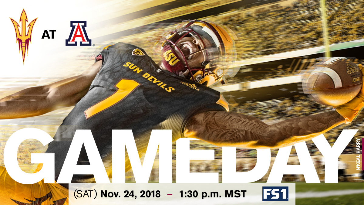 Uofa Football Score >> Territorial Cup Awaits Sun Devil Football In Tucson