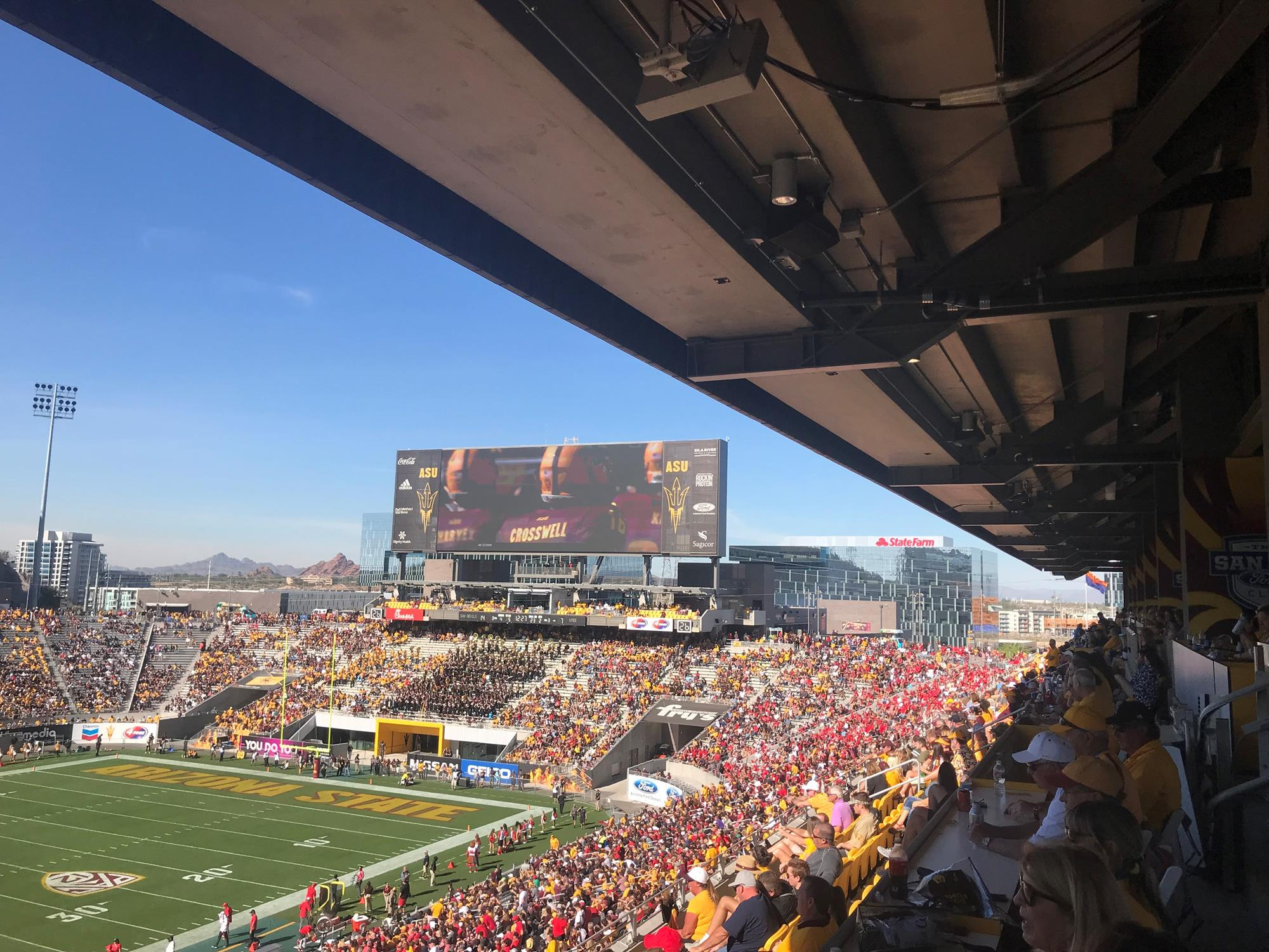Frank Kush Field/Sun Devil Stadium - Facilities - Arizona