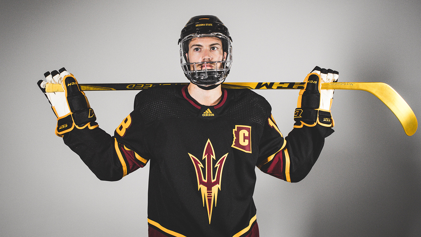 Sun Devil Hockey Reveals Alternate adidas adizero jersey c9f0e7e2c4e