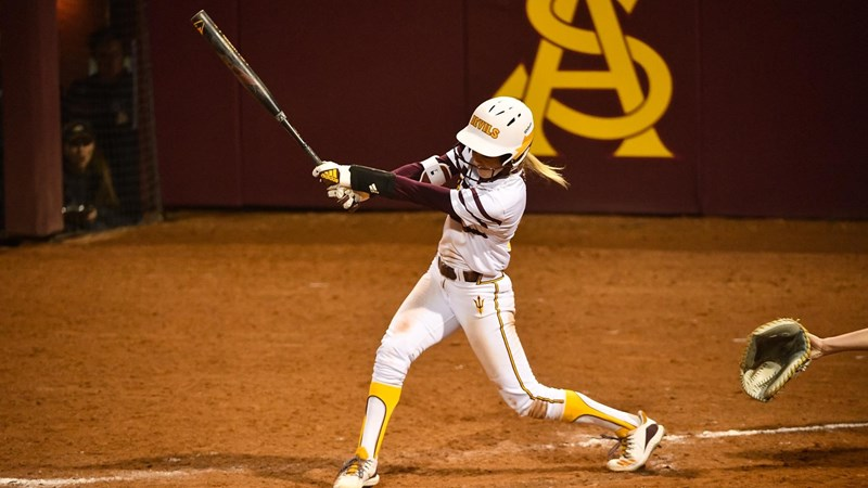 Loomis Homers Twice as ASU Defeats South Dakota on Final Day of ASU Invitational - Arizona State University Athletics