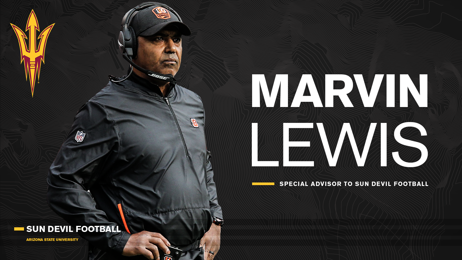 the best attitude f5e0d 04ac4 NFL Coaching Veteran Marvin Lewis Joins Herm Edwards' Staff ...