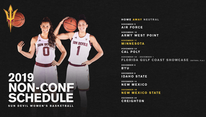 Pac-12 Women's Basketball Weekly Matchups Announced For 2019-20
