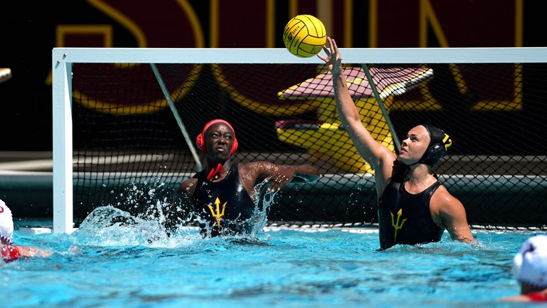 Water Polo Upsets No. 2 UCLA - Arizona State University Athletics